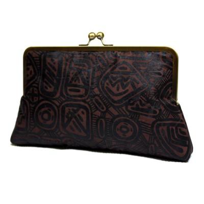 Handmade African Batik clutch