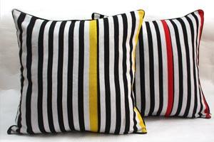 Urbanknit Zebra Cushions
