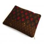 iPad sleeve Red diamonds ankara