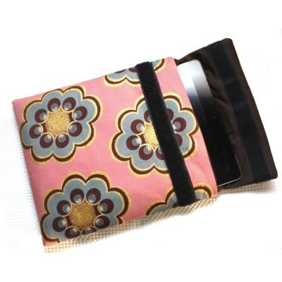 iPad Sleeve- Teal Bloom Print