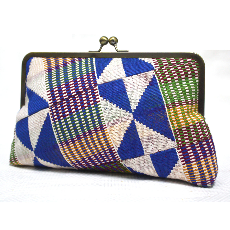 Kente Clutch Bag
