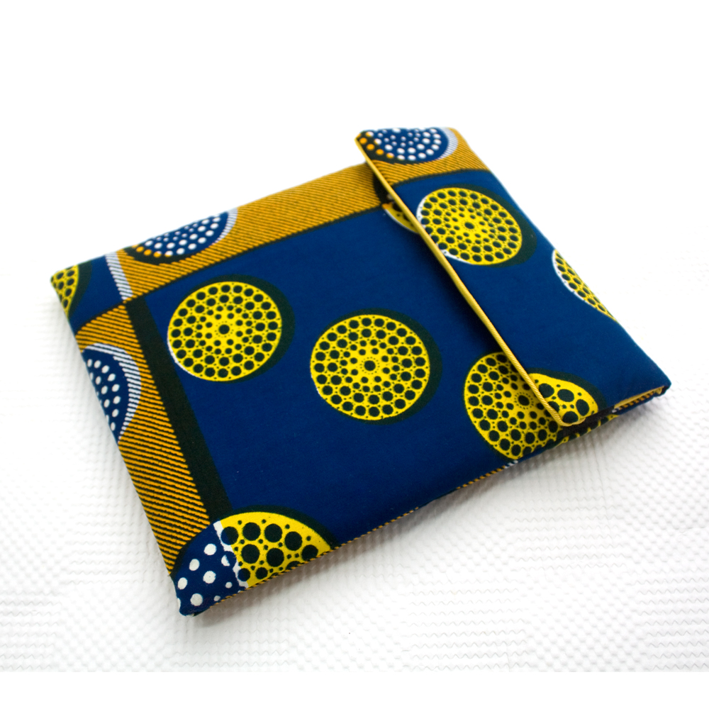 Blue Circles iPad Sleeve