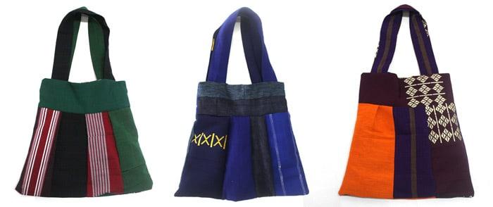 Aso-oke-Bee-bags-UrbanknitS