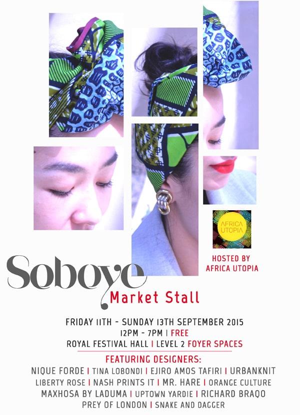 Africa Utopia- Soboye Market Stall
